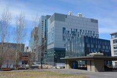 新的蒙特利尔` s中心医院 免版税库存照片