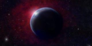 新的行星 库存例证