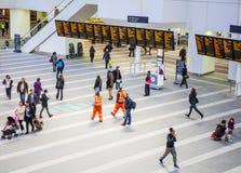 新的街道火车站伯明翰 免版税库存照片