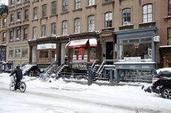 新的街道约克 免版税库存照片