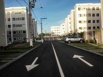 新的街道 免版税库存照片