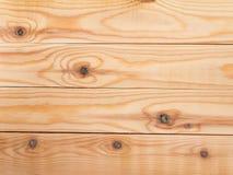 新的被打结的杉木板条背景 库存照片