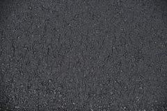 新的被铺的路面沥青背景 免版税库存图片