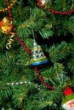 新的装饰品结构树年 免版税库存照片