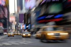 新的计程车约克 免版税库存图片