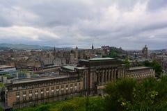 新的议会在爱丁堡,苏格兰安置 免版税库存照片