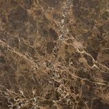 新的设计的令人敬畏的棕色自然大理石石纹理 免版税图库摄影