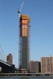 新的豪华摩天大楼Extell ` s更低的东边建设中 库存图片