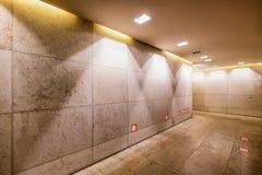 新的走廊 免版税库存照片