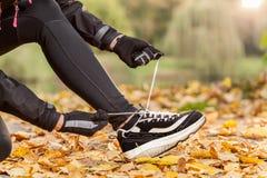 新的跑鞋 免版税图库摄影