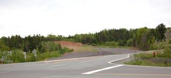 新的路的建筑 库存图片