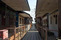 新的跳船,乔治城,槟榔岛,马来西亚 库存图片