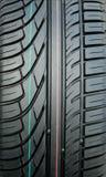 新的轮胎踩 免版税库存照片