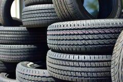 新的轮胎 免版税图库摄影