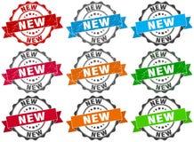 新的邮票 标志 密封 库存照片
