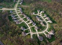 新的郊区 库存图片