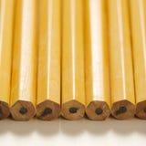 新的铅笔行 图库摄影