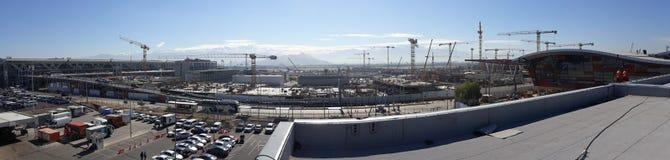 新的阿图罗美利奴绵羊的贝尼特兹机场建筑 库存图片