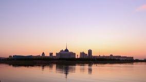 新的阿斯塔纳 总统宫殿 阿斯塔纳, Kazakhst 股票视频