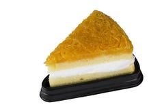 新的雪芳蛋糕 免版税图库摄影