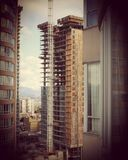 新的高层建筑 免版税库存图片