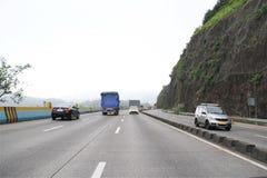 新的高速公路在印度 库存照片