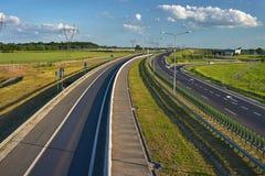 新的高速公路 免版税图库摄影