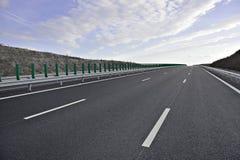 新的高速公路 免版税库存图片