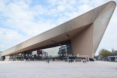 新的鹿特丹Centraal火车站 图库摄影