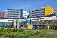 新的麦吉尔大学健康中心 免版税库存照片