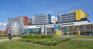 新的麦吉尔大学健康中心 库存图片