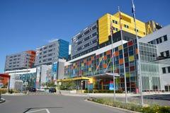 新的麦吉尔大学健康中心 库存照片