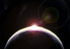新的黎明 向量例证