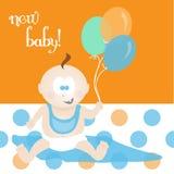 新的婴孩 免版税库存图片
