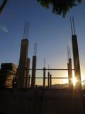 新的建筑工地 免版税库存图片