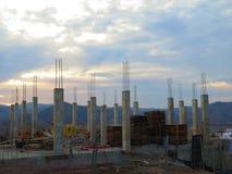 新的建筑工地 库存图片