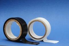 新的绝缘材料磁带卷 库存图片