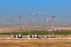 新的邻里建造场所  免版税库存照片