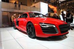 2013年Audi R8 V10 免版税库存照片