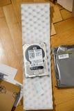 新的6 TB硬盘驱动器 免版税库存照片