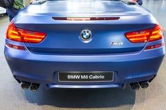 新的BMW M6 Cabrio 库存照片