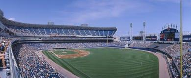 新的Comiskey公园,芝加哥, White Sox v.别动队员,伊利诺伊 别动队员,伊利诺伊 免版税图库摄影