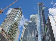 新的construtions大厦 免版税库存照片