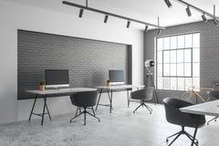新的coworking的办公室 免版税图库摄影