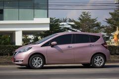 新的Eco汽车日产注意 免版税库存图片