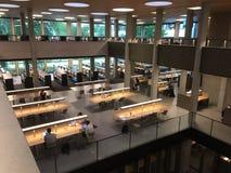 新的Erasmus大学图书馆 免版税库存图片