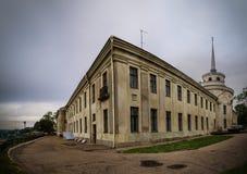 新的Hrodna城堡 免版税图库摄影