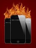 新的iphone 免版税库存图片