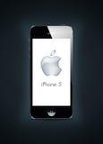 新的iPhone 5 免版税库存图片