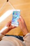 新的iPhone 6S和iPhone 6s加上 库存照片